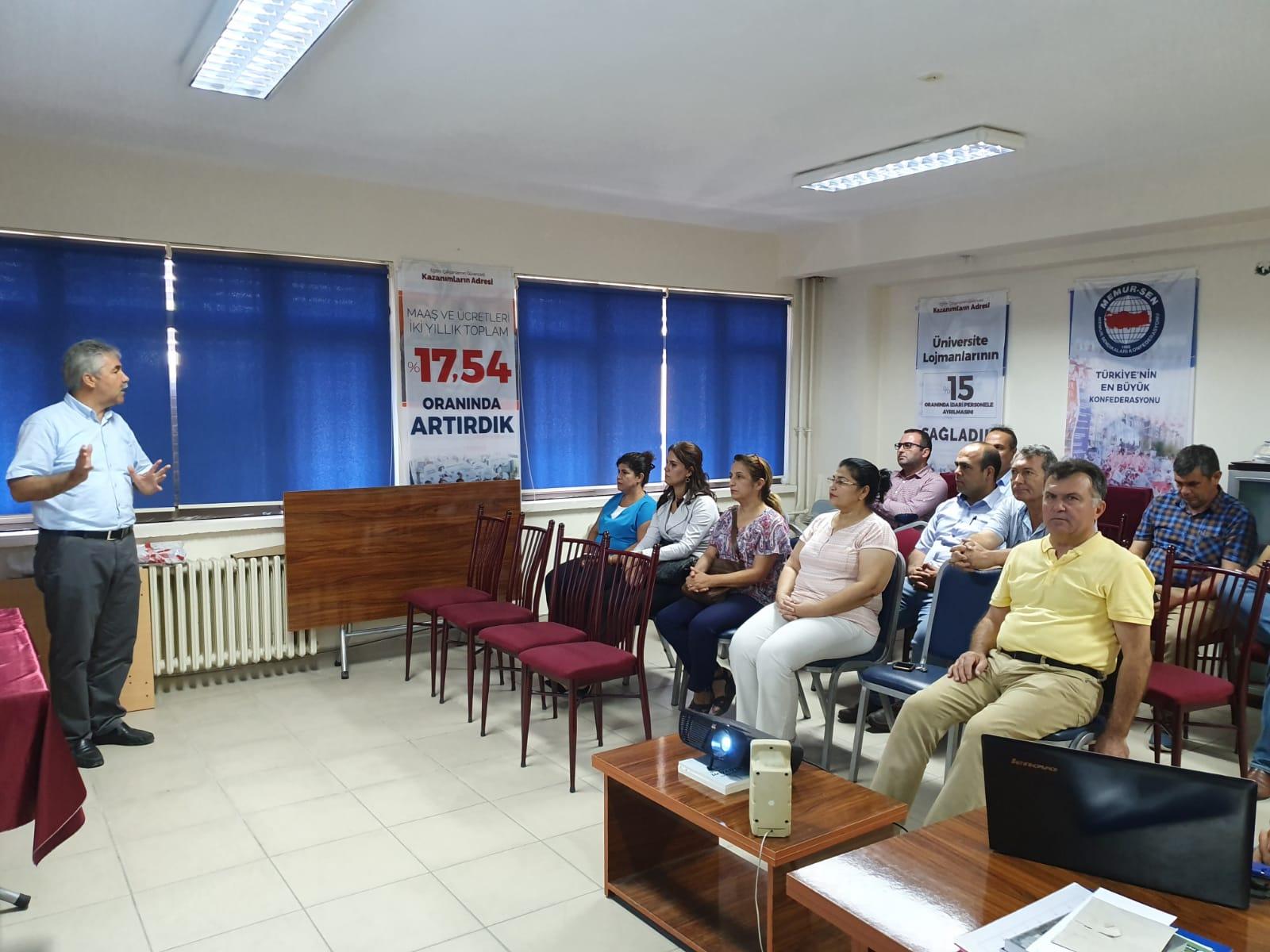 Eğitim Bir Sen Adana 2 Nolu Şube Eylül Ayı Divan Toplantısı Yapıldı